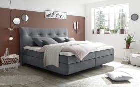 Boxspringbett Waterford 2 in anthrazit