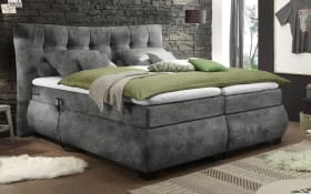 Motor-Boxspringbett Derby 6 in grey