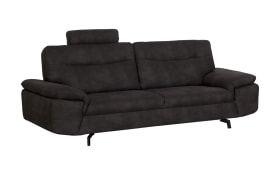 Sofa 3- Sitzer Stan in anthrazit