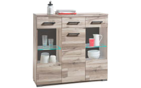 Highboard Gomera in Timber wood Optik