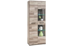 Vitrine Gomera in Timber Wood Optik