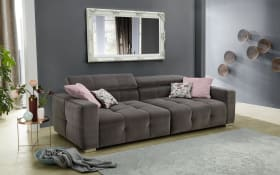 Big-Sofa Trento in grau