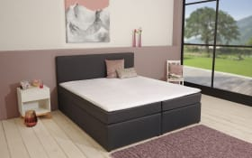 Boxspringbett BX830 Michigan in schwarz 180 x 200 cm