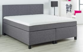 Boxspringbett BX 920 in grau