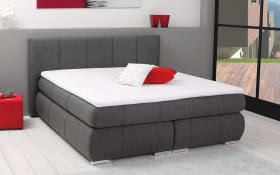 Boxspringbett BX 880 Indiana in grau