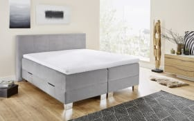 Boxspringbett BX1700 Riverside in grau