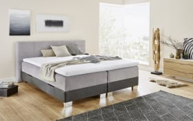 Boxspringbett BX1700 Riverside in grau/anthrazit
