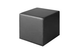 Sitzwürfel Kubus in schwarz