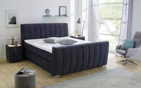 Boxspringbett Diana Mix in grau