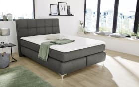 Boxspringbett Bea in grau