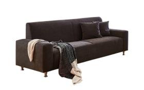 Sofa 3-Sitzer Julia in braun