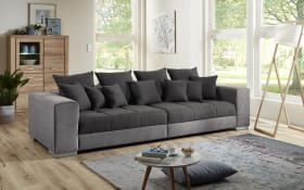 Big-Sofa Swing in grau