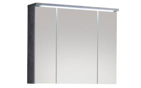 Spiegelschrank Pool in Betonoptik/weiß