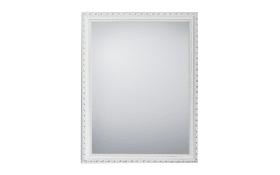 Rahmenspiegel Loreley in weiß, 34 x 45 cm