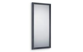 Rahmenspiegel Mia in schwarz, 80 x 180 cm