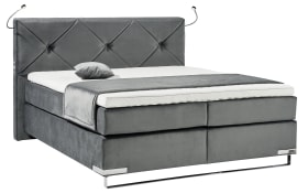 Boxspringbett Dubai in anthrazit