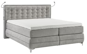 Boxspringbett Dubai in grau
