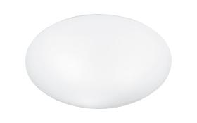 Deckenleuchte Valor in opal weiß, 42 cm