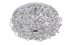 LED-Deckenleuchte Apart in silber