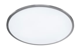 LED-Deckenleuchte Linox in silber, 2700-6000 K