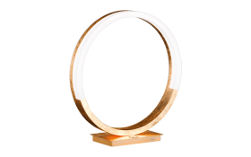 LED-Tischleuchte Soul in goldfarbig