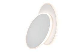 LED-Wandleuchte Meghan in weiß