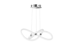 LED-Pendelleuchte Mira in weiß