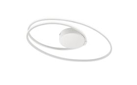 LED-Deckenleuchte Nia in weiß, 50 cm