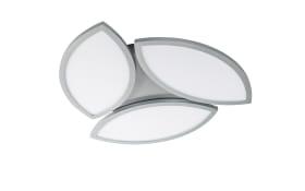 LED-Deckenleuchte Wiz Kirk in silberfarbig