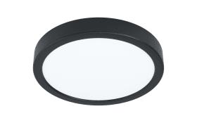 LED-Deckenleuchte Fueva 5 in schwarz, 16 cm