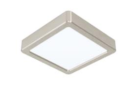 LED-Deckenleuchte Fueva 5, 16 x 16 cm, in nickel-matt