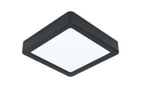 LED-Deckenleuchte Fueva 5, 16 x 16 cm, in schwarz