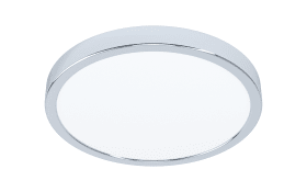 LED-Deckenleuchte Fueva 5 in chromfarbig, 28,5 cm