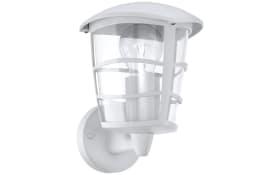 LED-Außenleuchte Aloria in weiß