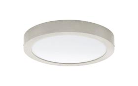 LED-Ein-/Aufbauleuchte Fueva 1 in nickel matt