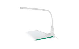 LED-Klemmleuchte Laroa in weiß
