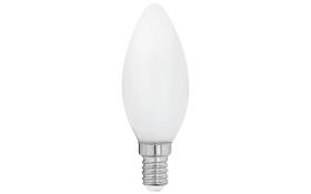 LED-Leuchtmittel Kerze Milky, 4W