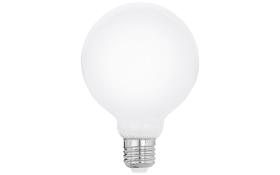 LED-Leuchtmittel Globe G95 Milky Filament, 8W / E27