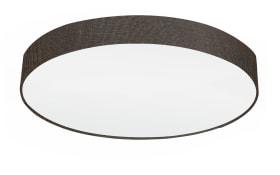 Deckenleuchte Pasteri in braun, 76 cm