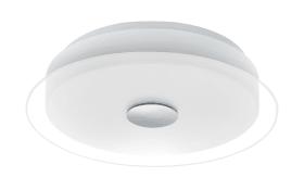 LED-Deckenleuchte Parell in weiß