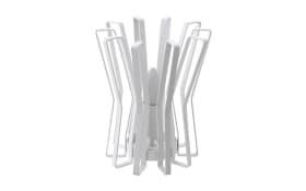 Tischleuchte Locubin in weiß, 24 cm