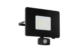 LED-Außen-Wandleuchte Faedo 3 in schwarz, 20 cm