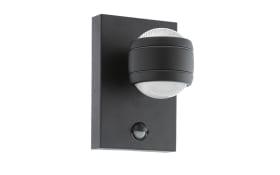 LED-Außen-Wandleuchte Sesimba 1 in schwarz