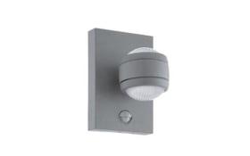 LED-Außen-Wandleuchte Sesimba 1 in silber