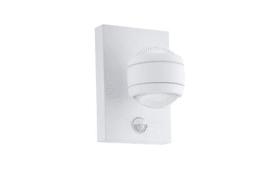 LED-Außenwandleuchte Sesimba 1 in weiß