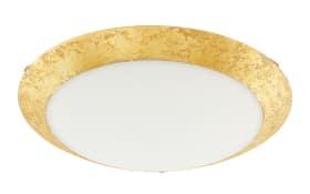 LED-Deckenleuchte Montenovo in goldfarbig