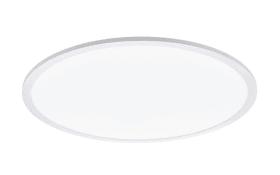 LED-Deckenleuchte Sarsina in weiß, 60 cm