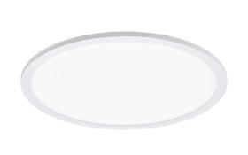 LED-Deckenleuchte Sarsina in weiß, 45 cm