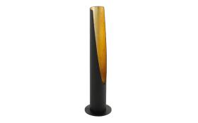 Tischleuchte Barbotto in schwarz/gold