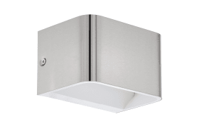 LED-Wandleuchte Sania 4 in nickel matt
